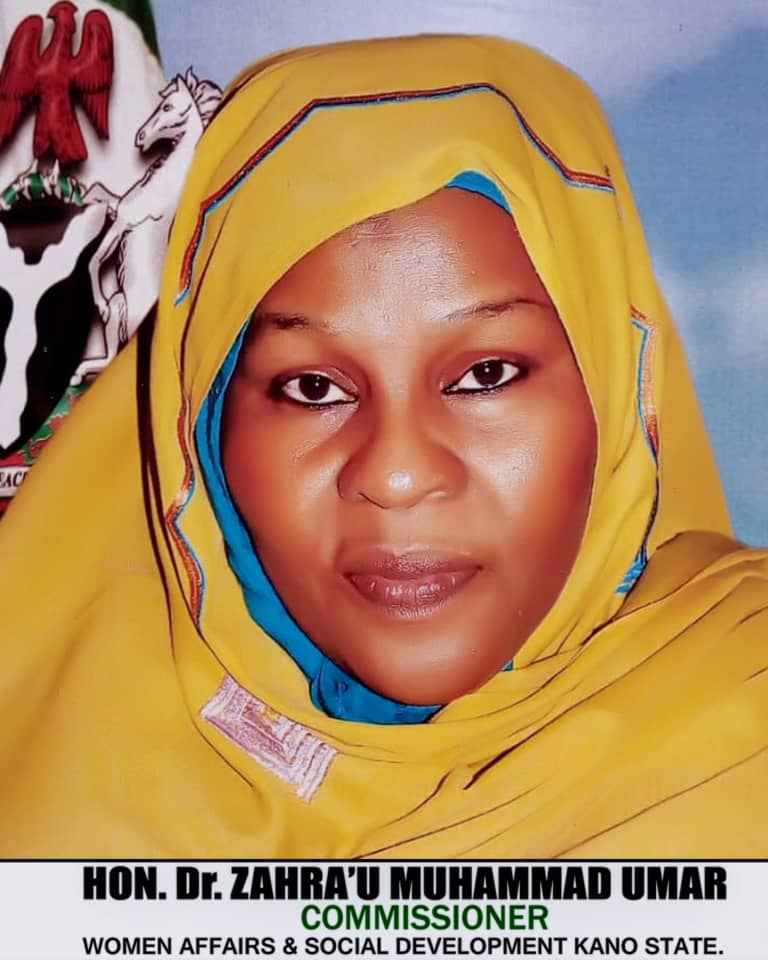 Image result for State's Commissioner for Women Affairs and Social Development, Dr Zahra'u Muhammad-Umar